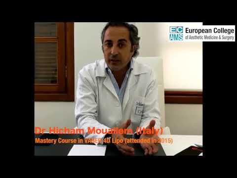 Vaser 4DLipo Master Course video testimonial - Dr. Hicham Mouallem