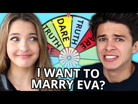 Brent and Lexi Rivera Play Wheel of Truth or Dare