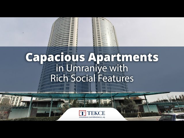 Centrally Located Spacious Flats in Istanbul Umraniye