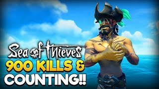 Sea of Thieves LIVE - 900+⭐Arena⭐Kills & Counting - Current Record 21-0