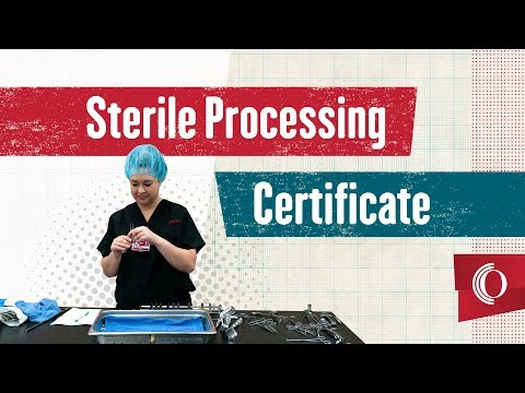 Sterile Processing Certificate - YouTube