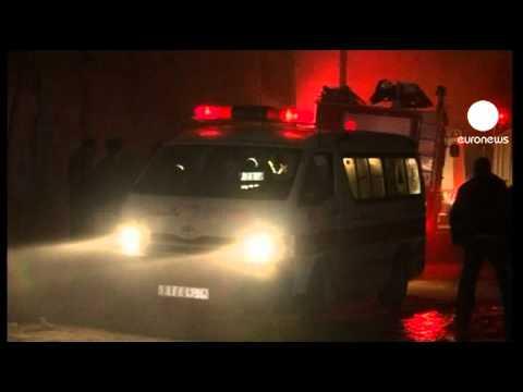 Bombardeos israelíes sobre Gaza dejan ocho personas heridas