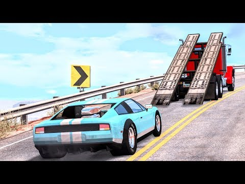 Epic High Speed Jumps #64 – BeamNG Drive | CrashBoomPunk