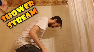 Asmongold UPDATED House TOUR & Shower Stream
