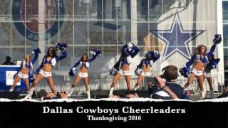 Dallas Cowboys Cheerleaders - Thanksgiving 2016