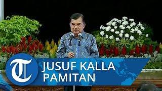 Wapres Jusuf Kalla Pamitan dan Ucapkan Selamat untuk Menteri yang Berlanjut
