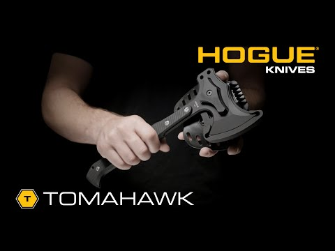 "Hogue Knives 14"" EX-T01 Tomahawk Axe Black G-10"
