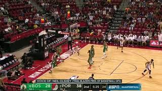 Highlights: Trail Blazers 95, Celtics 80 | Summer League 2018