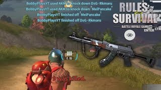 PROVING THE AKM IS BETTER THAN THE M14! Rules of Survival