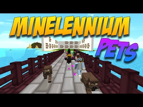 MINELENNIUM PETS: Mod De Mini Mascotas De Los Mobs - Minecraft Mod 1.8