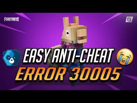 Anti Cheat Fortnite Error
