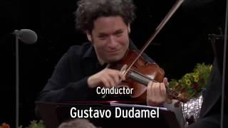 Berliner Luft (2017) - Gustavo Dudamel (on violin) & Berliner Philharmoniker - Waldbühne, Berlin