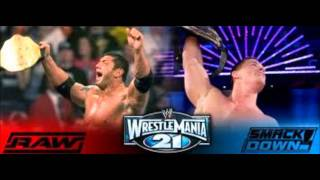 Wrestlemania 21 Theme Song - Behind Those Eyes - 3 Doors Down