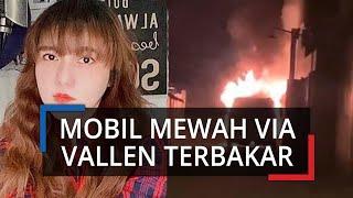 Mobil Mewah Via Vallen Hangus Terbakar, Polisi Tangkap Satu Orang Diduga Pembakar