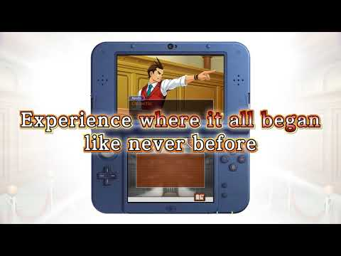 Apollo Justice: Ace Attorney - 3DS Launch Trailer thumbnail