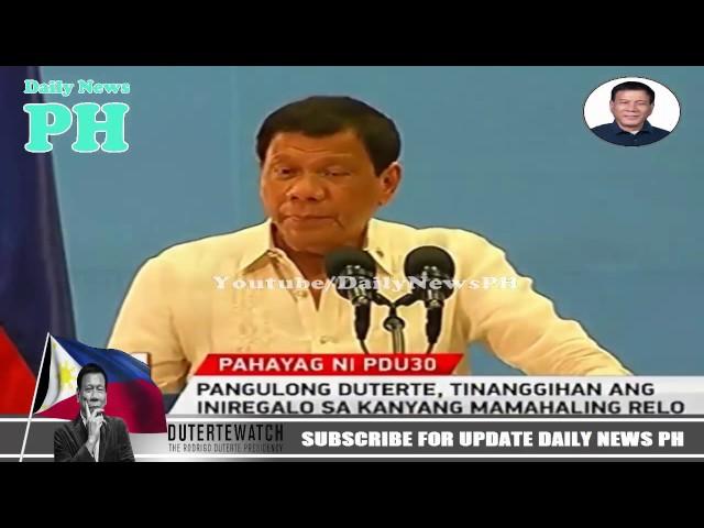 Breaking News Philippines March 25 2017 Duterte Du30