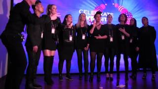 ESCKAZ in Kyiv: Gospel Choir at Nordic Party