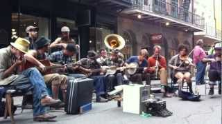 """Minglewood Blues"" LIVE @ Royal Street, New Orleans, LA"