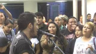 Heavy Nopal - No tengo tiempo @ Metro San Lazaro 25sep13 www.rockxmexico.com