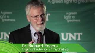 Dr. Richard Rogers, UNT Foundation Eminent Faculty Award Winner