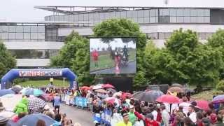preview picture of video 'Marathon Poitiers Futuroscope 2014 - Retour sur la 10eme édition'