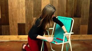How to Make A Macramé Chair