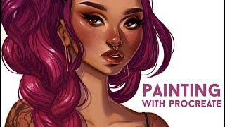 Painting With Procreate // Jacquelindeleon