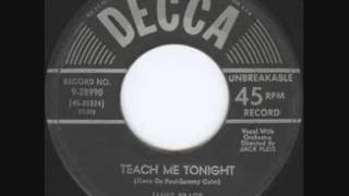 Teach Me Tonight (1954) by Janet Brace - First recording!