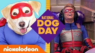 Dogs of Nickelodeon Trivia Game 🐶 ft. Henry Danger, SpongeBob & More!   National Dog Day