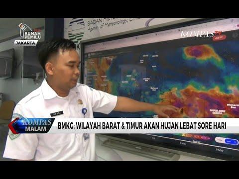 Prediksi Cuaca saat Pantauan Hilal, BMKG: Wilayah Barat dan Timur akan Hujan Lebat Sore hari