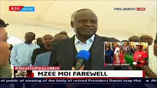 Former President Daniel Moi's family welcomes mourning visitors