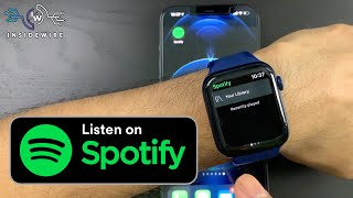 Spotify on Apple Watch Series 6 | What you can and cant do