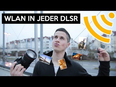 Jede Kamera mit WLAN ausstatten, so geht`s | QUMOX SD CF Adapter
