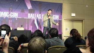 Karl Urban Panel - SFX Dallas 2/9/14 (Part 2)