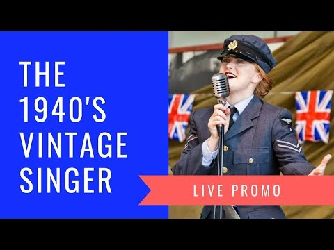 The 1940's Vintage Singer Video