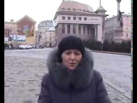 Разрываем шаблоны относительно Львова... Опрос прохожих