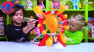 BOOM BOOM BALLOON CHALLENGE Бум Бум Балун Челлендж с Ярославой Видео для детей