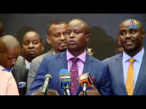 Pro-Uhuru and Raila MPs put DP Ruto put on the spot, call for his resignation