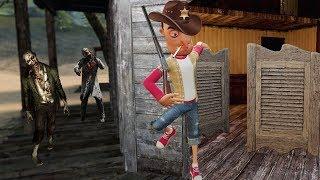 Old Western Zombie Survival! | Garry's Mod Gameplay | Gmod Gameplay - Zombie Apocalypse Survival!