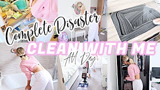 COMPLETE DISASTER CLEAN WITH ME 2020 // EXTREME CLEANING MOTIVATION // ALL DAY CLEAN WITH ME