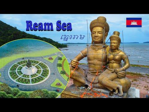 Construction process at Ream Beach Area | Sihanoukville 2021