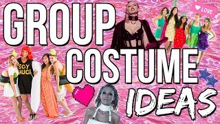 8 Group Halloween Costume Ideas 2017! Last Minute Costume Ideas!