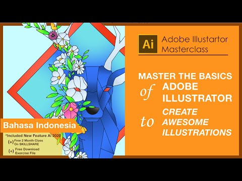 ADOBE ILLUSTRATOR MASTERCLASS||Adobe Illustrator for ...