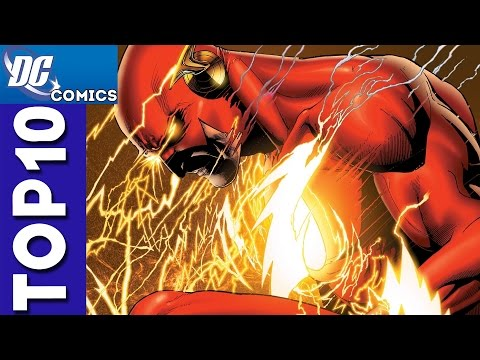 Top 10 Flash Moments From Justice League #1