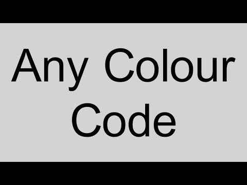 mp4 Html Color Code To Color Name, download Html Color Code To Color Name video klip Html Color Code To Color Name