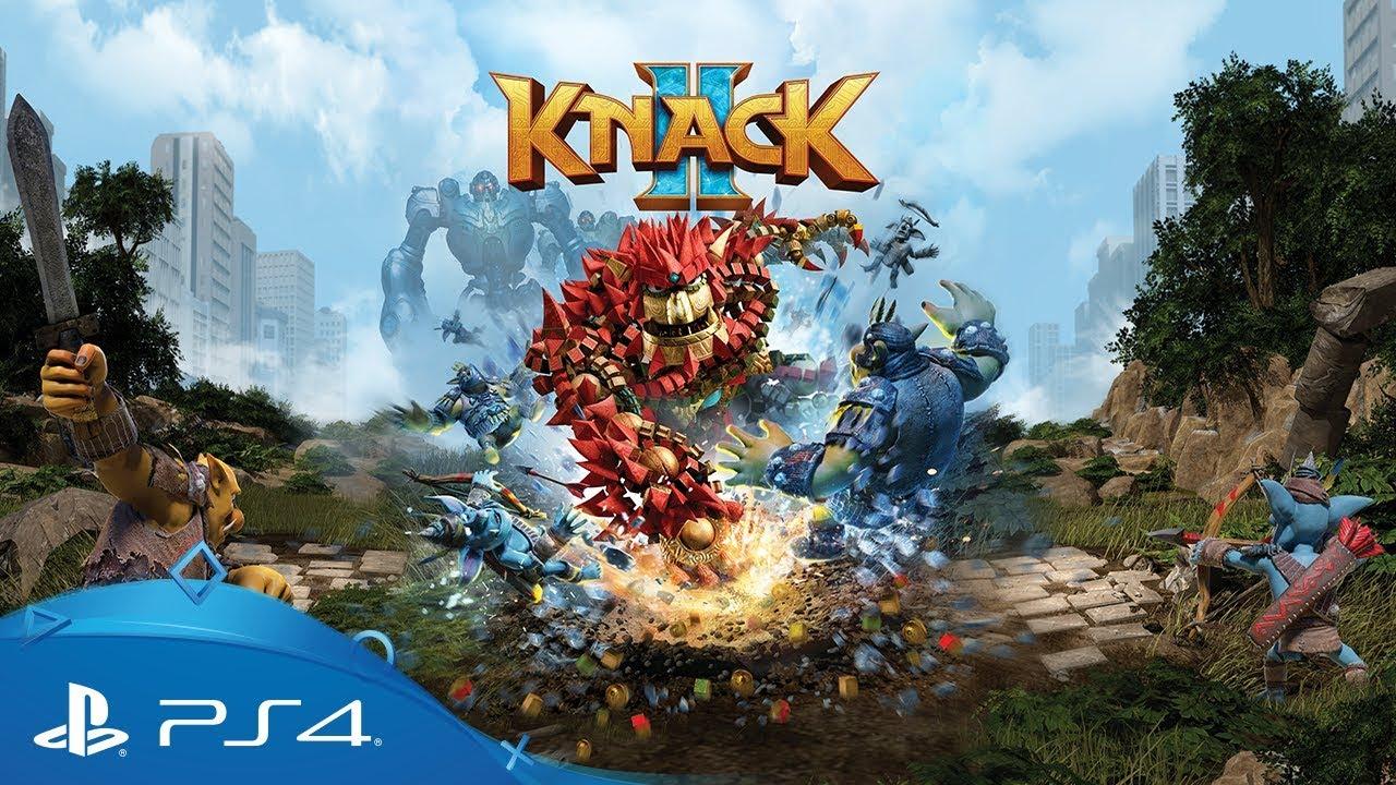 Диск Knack 2 (Blu-ray, Russian version) для PS4 (9897163) video preview