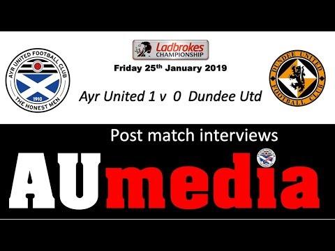 190125 Post Match Interview