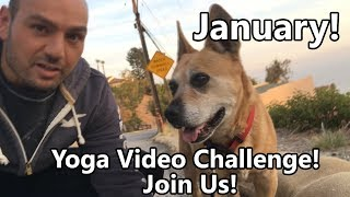 30 DAY YOGA VIDEO CHALLENGE FOR JANUARY 2018!!! JOIN ME!