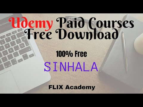Udemy Paid Courses Free Download | 100% Free | Sinhala |