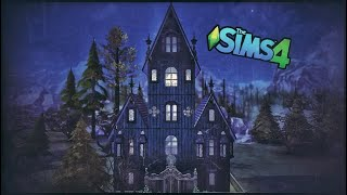 Gothic Tiny House! - The Sims 4 Speed Build